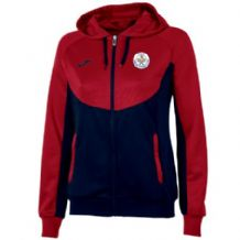 Tralee Tennis Club Joma Jacket Hoodie Essential Women's Navy/Red Youth 2019